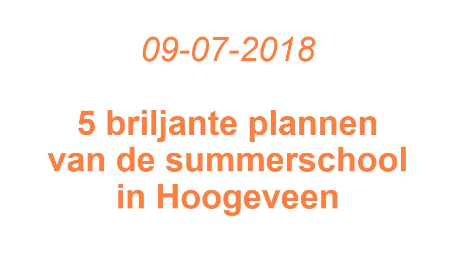 Vijf briljante oplossingen voor de waterstoftransitie in Hoogeveen