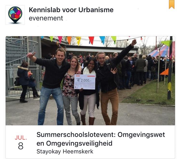 Summerschoolslotevent (8 juli): Omgevingswet en Omgevingsveiligheid – Casus Wijk aan Zee