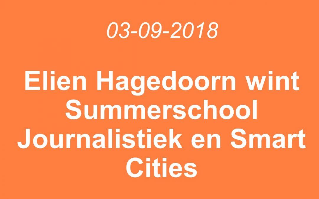 Elien Hagedoorn nam deel aan Summerschool Journalistiek & Smart Cities en wint freelance contract