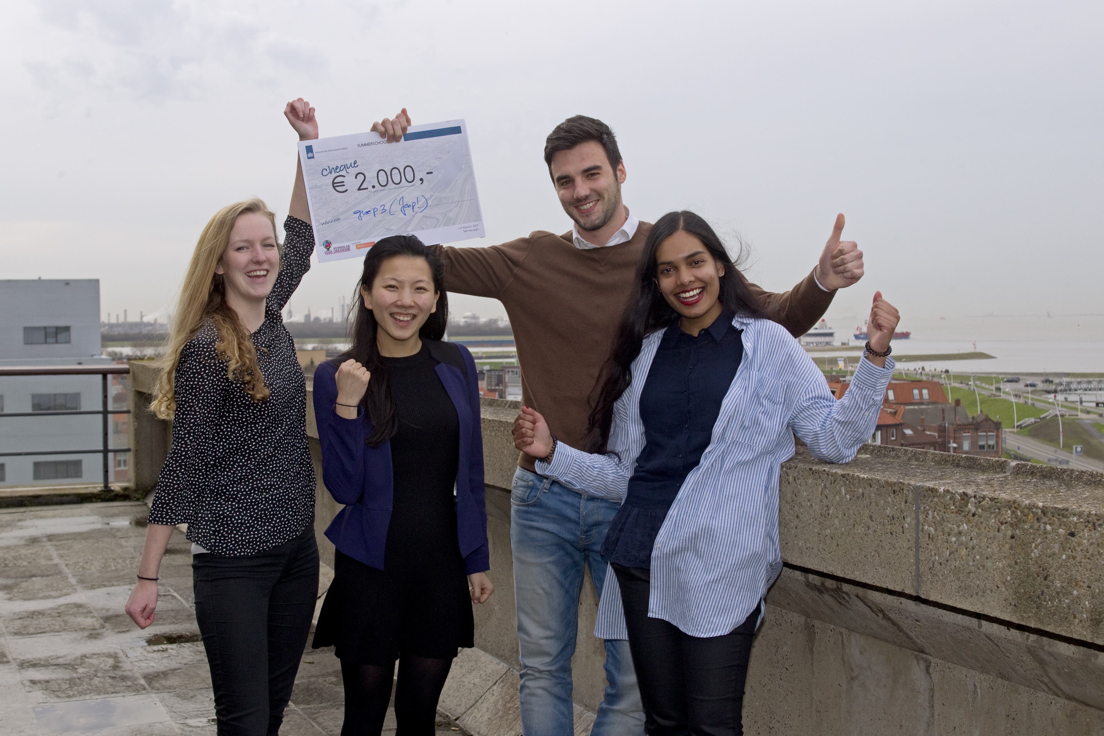 'Connected landscape' wint summerschool Terneuzen