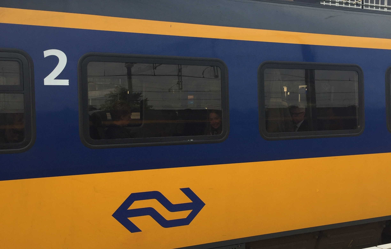 De trein is pas smart
