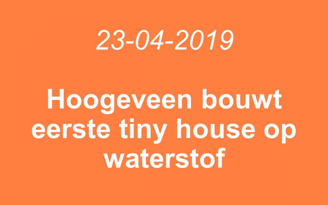Hoogeveen bouwt eerste tiny house op waterstof