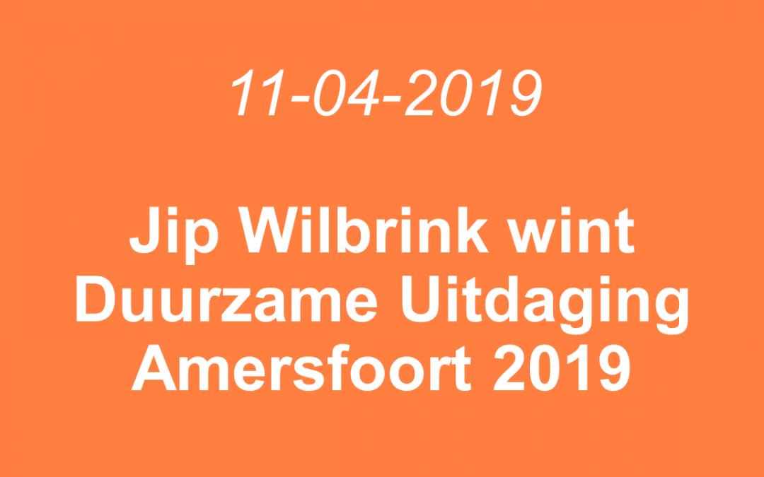Jip Wilbrink wint Duurzame Uitdaging Amersfoort 2019
